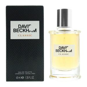 David Beckham Classic Eau de Toilette 40ml