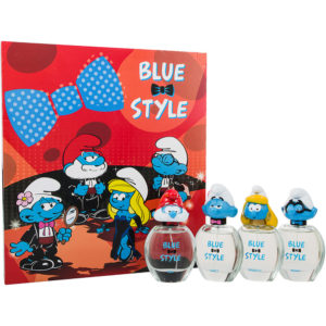 The Smurfs Blue Style Eau de Toilette 4 Pieces Gift Set