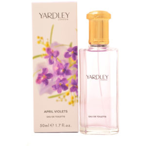 Yardley April Violets Eau de Toilette 50ml