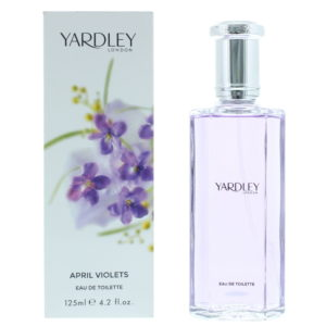 Yardley April Violets Eau de Toilette 125ml