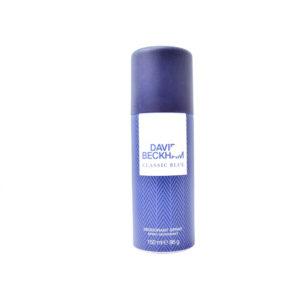 David Beckham Classic Blue Deodorant Spray 150ml