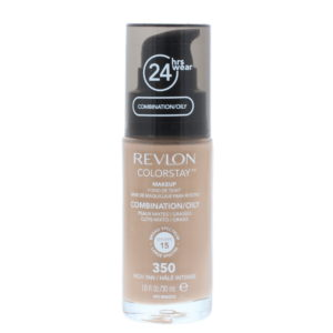 Revlon Colorstay Makeup Combination/Oily Skin Spf 15 350 Rich Tan Cosmetics 30ml