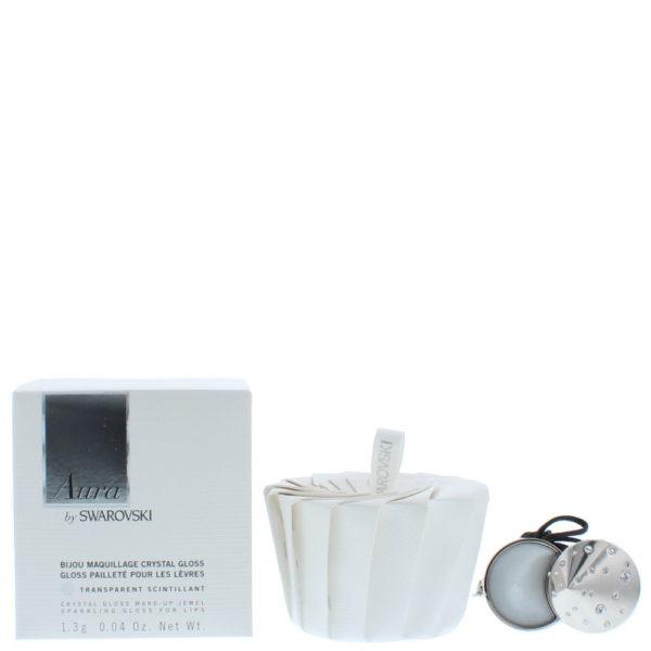 Swarovski Aura Crystal Gloss Make-Up Jewel Sparkling Transparent Lip Gloss 1.3g