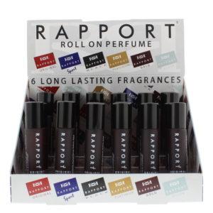 Eden Classic Rapport Original 10ml Roll On Perfume Display Unit 24pcs