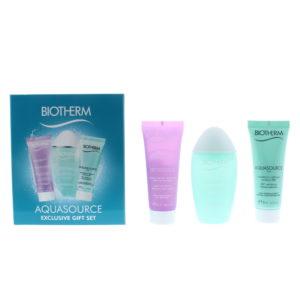 Biotherm Aquasource Skincare Set 3 Pieces Gift Set