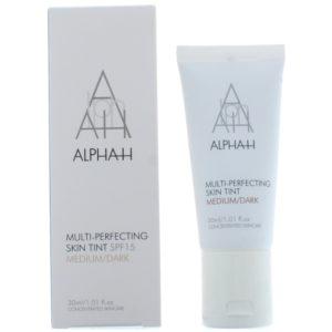 Alpha-H Multi-Perfecting Skin Tint Spf 15 Medium/Dark Moisturiser 30ml