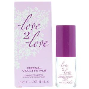 Love 2 Love Freesia + Violet Petals Eau de Toilette 11ml