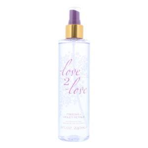 Love 2 Love Freesia + Violet Petals Fragrance Mist 240ml