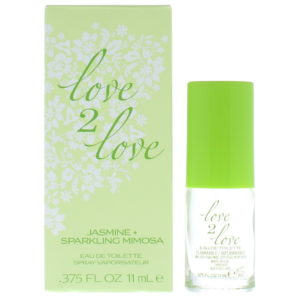 Love 2 Love Jasmine + Sparkling Mimosa Eau de Toilette 11ml