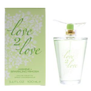 Love 2 Love Jasmine + Sparkling Mimosa Eau de Toilette 100ml