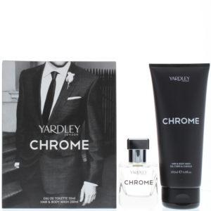 Yardley Chrome Eau de Toilette 2 Pieces Gift Set