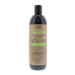Om She Coffee & Coconut Twist Of Lime Body Wash 500ml