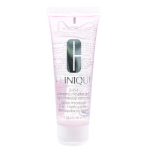Clinique 2-In-1 Cleansing Micellar Gel And Light Make-Up Remover 50ml
