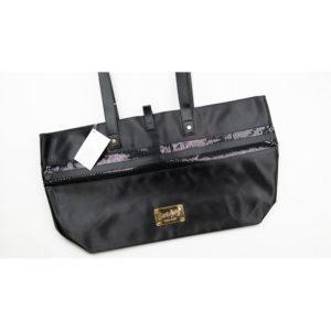 Nine West Love Fury Black Tote Bag
