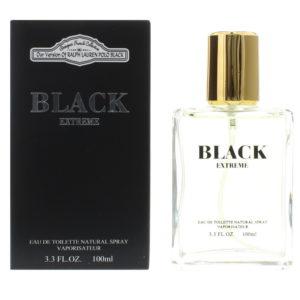 Designer French Collection Black Extreme Eau de Toilette 100ml