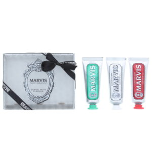 Marvis Travel With Flavour Toothpaste 3 Pieces Gift Set