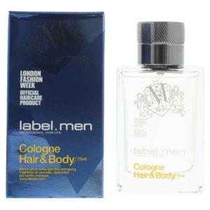 Label Men Hair & Body Cologne 75ml