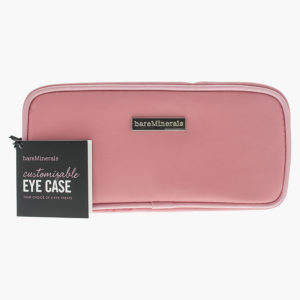Bare Minerals Customizable Eye Case Small Cosmetic Bag