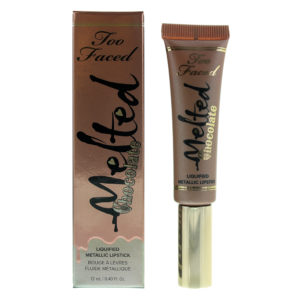 Too Faced Melted Chocolate Liquified Metallic Diamonds Lipstick 12ml
