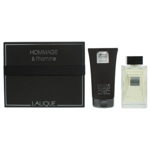 Lalique Hommage À L'homme Eau de Toilette 2 Pieces Gift Set