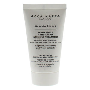 Acca Kappa White Moss Intensive Treatment Hand Cream 75ml