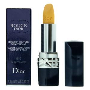 Dior Rouge Dior Couture Colour Comfort & Wear 610 Sunny Matte Lipstick 3.5g
