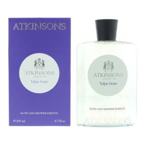 Atkinsons Tulipe Noire Bath And Shower Essence 200ml