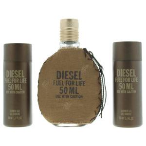 Diesel Fuel For Life Eau de Toilette 2 Pieces Gift Set