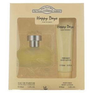 Designer French Collection Happy Days Eau de Parfum 2 Pieces Gift Set