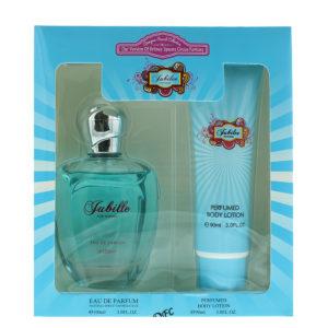 Designer French Collection Jubilee Eau de Parfum Gift Set : Eau de Parum 100ml - Body Lotion 90ml