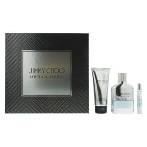 Jimmy Choo Urban Hero Eau de Parfum 3 Pieces Gift Set