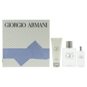 Giorgio Armani Acqua Di Gio Pour Homme Eau de Toilette 3 Pieces Gift Set