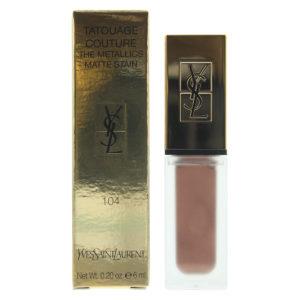 Yves Saint Laurent Tatouage Couture The Metallics Matte 104  Rose Gold Riot Lip Stain 6ml