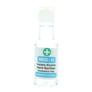 Med-Ix Instant Alcohol Fragrance Free 70% Alcohol Hand Sanitiser 50ml