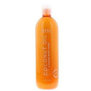 Om She Coconut Oil & Mango Body Wash 500ml