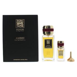 Signature Sillage D'Orient Ambre 2 Piece Eau De Parfum 100ML Eau De Parfum 15ML