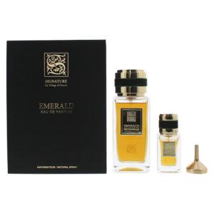 Signature Sillage D'Orient Emerald 2 Piece Eau De Parfum 100ML Eau De Parfum 15ML