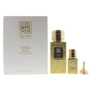 Signature Sillage D'Orient Rose 2 Piece Eau De Parfum 100ML Eau De Parfum 15ML