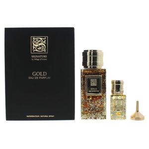 Signature Sillage D'Orient Gold 2 Piece Eau De Parfum 100ML Eau De Parfum 15ML