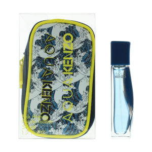 Kenzo Aqua Pour Homme Neo Edition Eau de Toilette Gift Set : Eau de Toilette 50ml -  Pouch