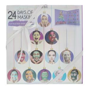 Skin Treats 24 Days of Masking Advent Calendar 24 x Clay Face Mask