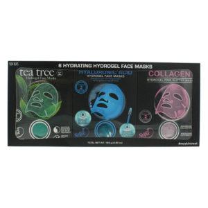 Skin Treats Hydrogel Face Masks Gift Set - 6 Pack