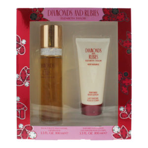 Elizabeth Taylor Diamonds And Rubies 2 Piece Eau De Toilette 100ml Body Lotion 100ml