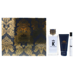 Dolce & Gabbana K 3 Piece Eau De Toilette 100ml Shower Gel 50ml Eau De Toilette 10ml