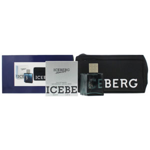 Iceberg Homme 2 Piece Set - Eau De Toilette 100ml - Pouch