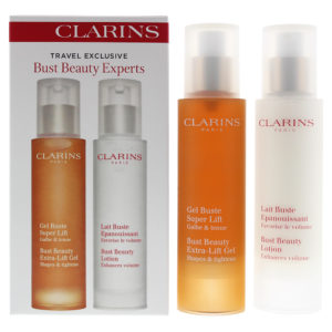 Clarins 2 Piece Gift Set: Bust Beauty Lotion 50ml - Bust Beauty Lifting Gel 50ml