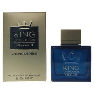 Antonio Banderas King Of Seduction Absolute Eau De Toilette 100ml