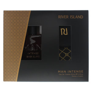 River Island Man Intense 2 Piece Gift Set: Eau De Toilette 100ml - 2 Pairs of Socks