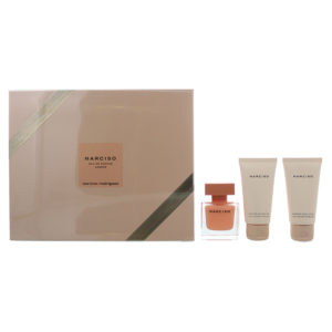 Narciso Rodriguez Ambree 3 Piece Eau De Parfum 50ML Body Lotion 50ML Shower Gel 50ML