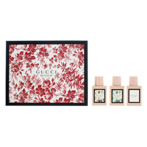Gucci 3 Piece Gift Set: Bloom Eau De Parfum 30ml - Bloom Acqua Di Fiori Eau De Toilette 30ml - Bloom Nettare Di Fiori Eau De Parfum 30ml